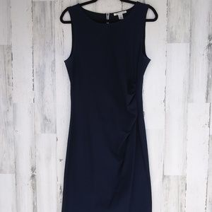 Kenneth Cole Navy Blue Dress